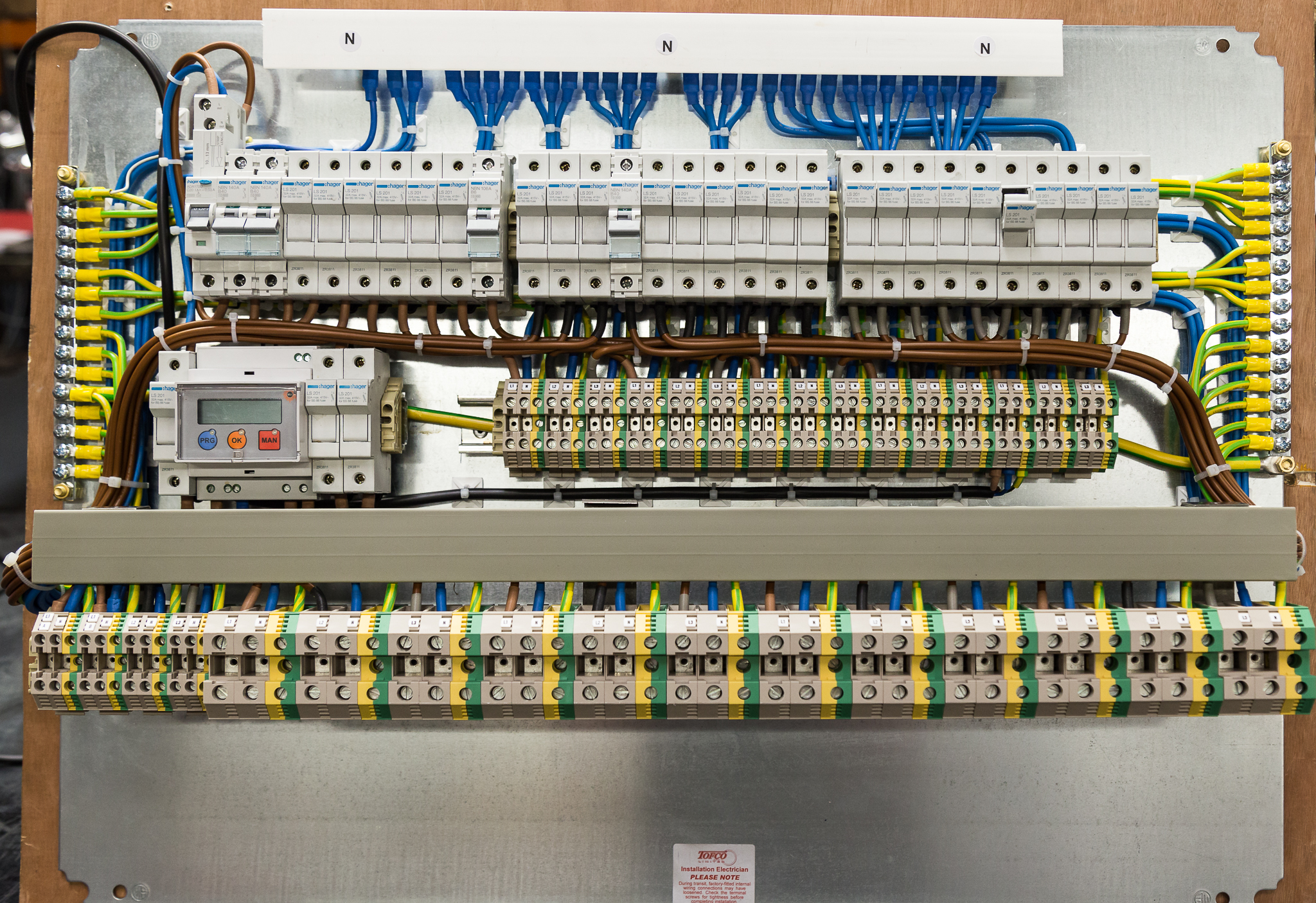 Pre Wired Panels Tofco Cpp Ltd Distribution Box Electrical Panel Buy Circuit Breaker Control Single Or Three Phase Individual Group Switched With A Variety Of Protective Devices Fuses Mcb Rcd Rcbo Etc